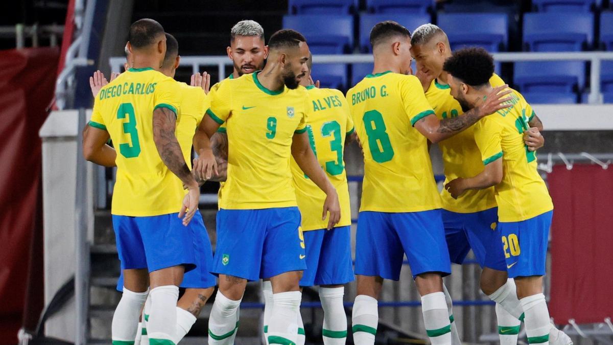 Brasil abusa de Alemania en uno de los grandes primeros duelos del fútbol  en los Juegos Olímpicos de Tokio