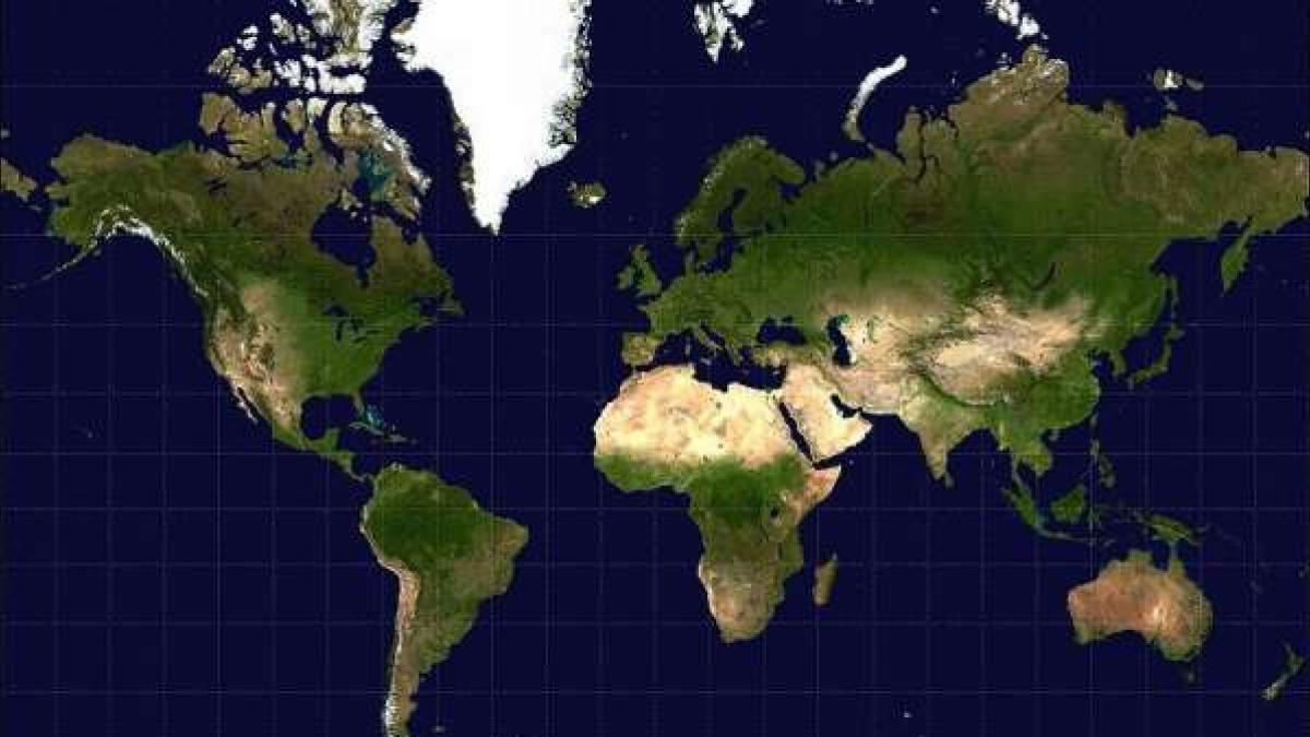 El Mundo No Es Como En Los Mapas