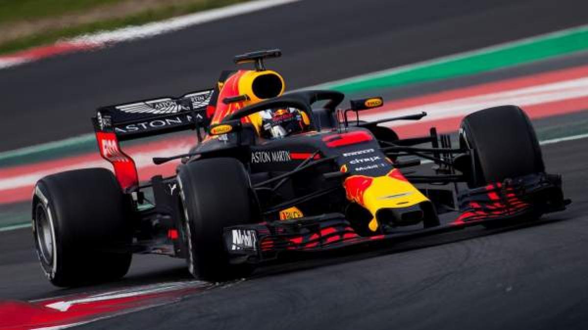 Red Bull Escuderia Y Pilotos F1 2018