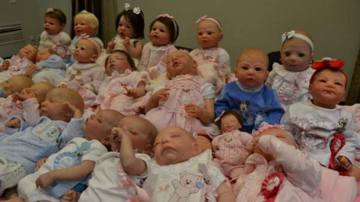 Bebés 'reborn': parecen de carne y hueso pero no son más que