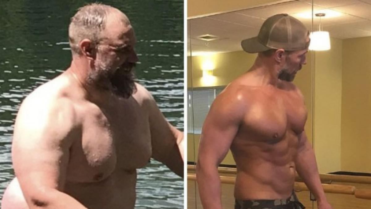 como bajar 40 kilos en 5 meses