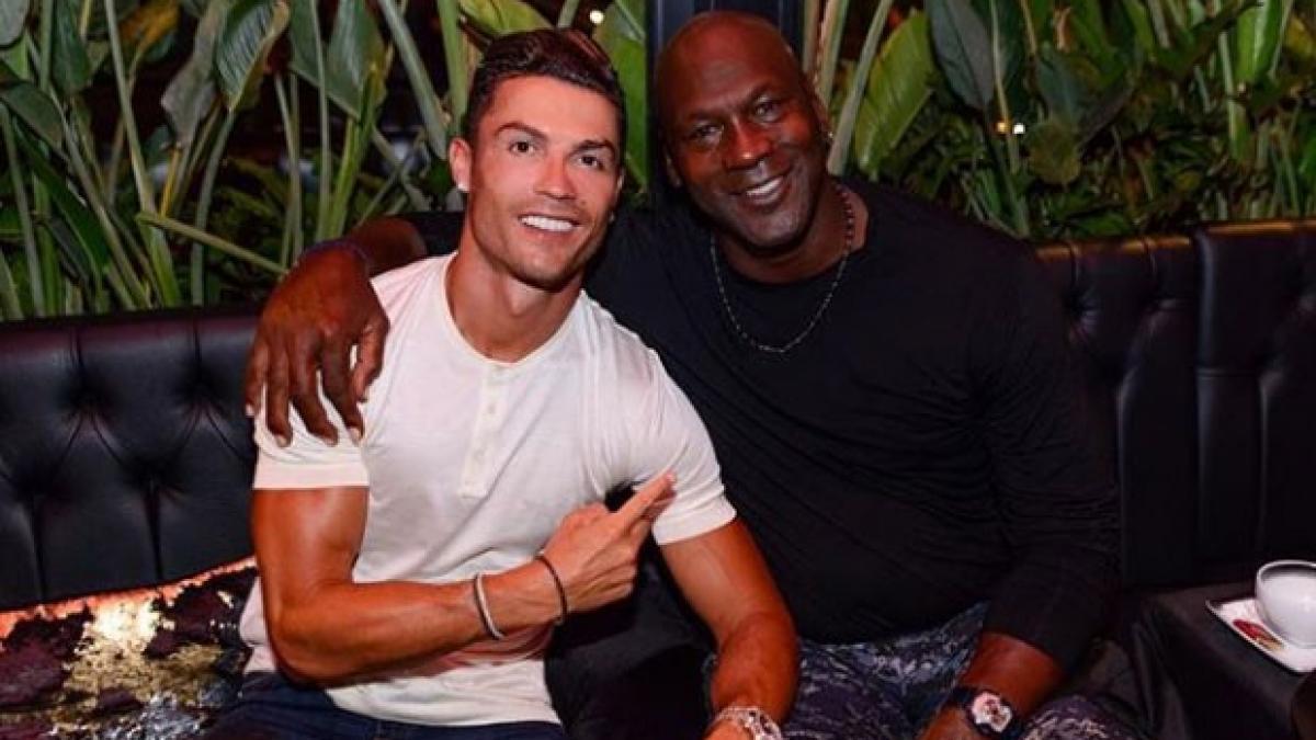 Cristiano Ronaldo Se Compara Con Michael Jordan Hicimos Historia