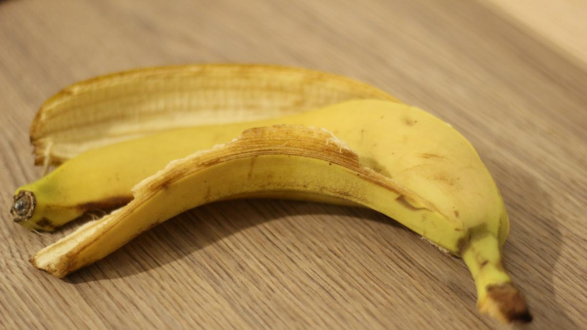 Cáscara de plátano