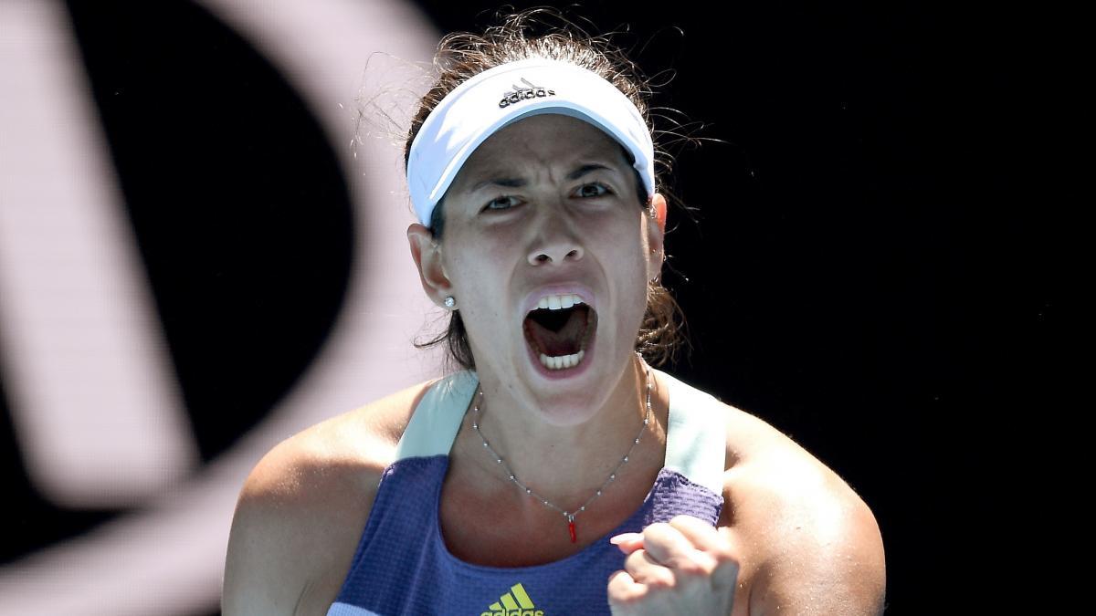 Muguruza juega la final del Australian Open