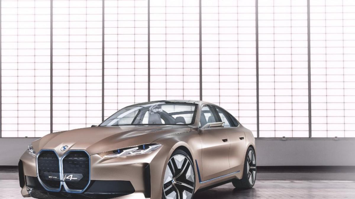 Bmw Lanza Un Nuevo Concept Car Y Descubre Su Nuevo Logo
