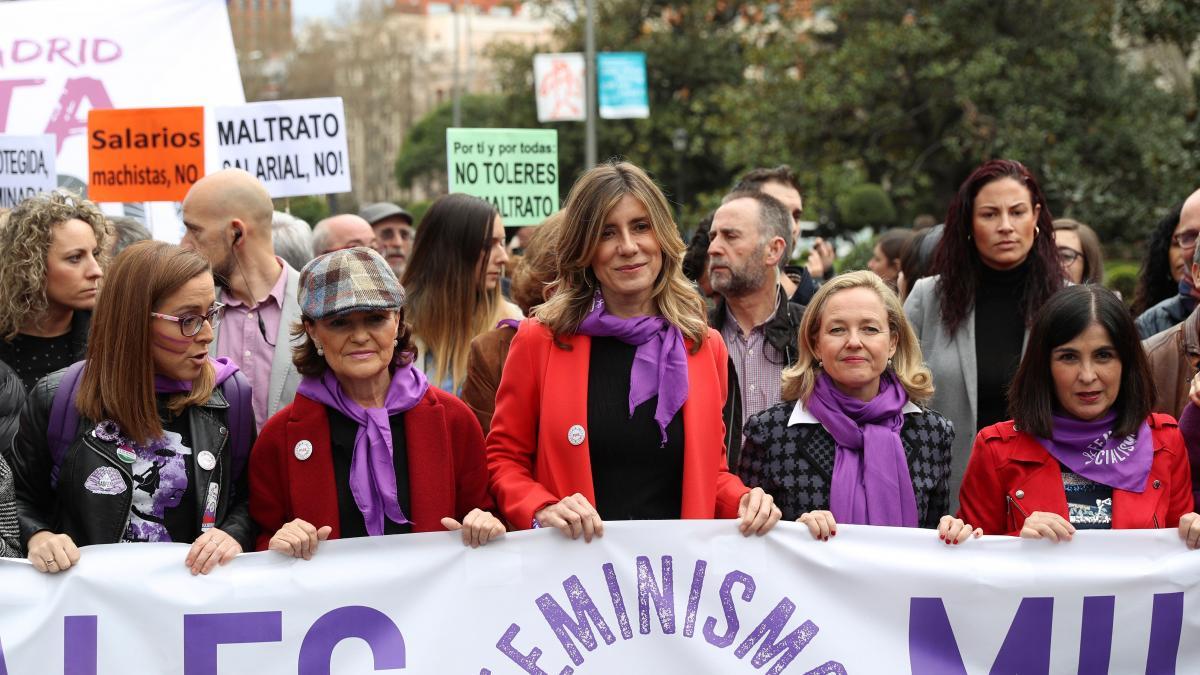 Manifestaciones feministas del 8 de marzo en directo: últimas noticias