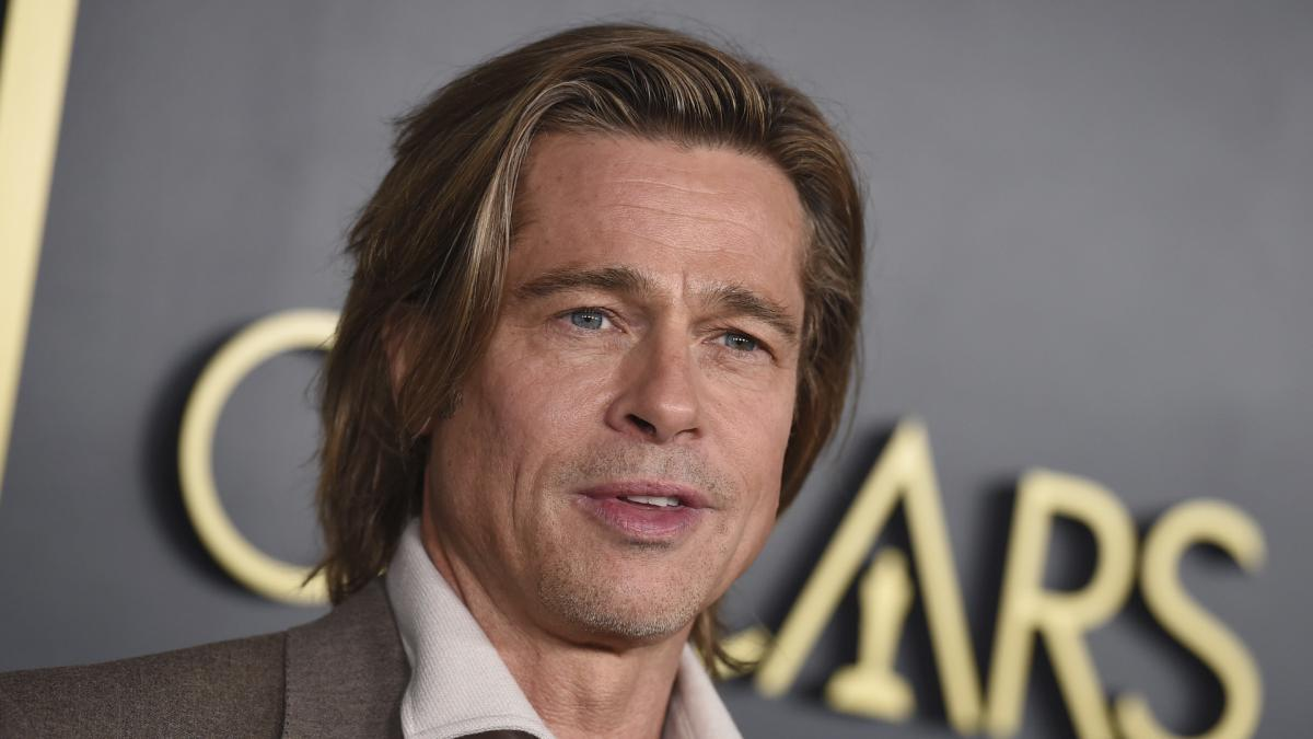 Fotos: Brad Pitt, hecho una pena en el rodaje de 'Bullet Train'