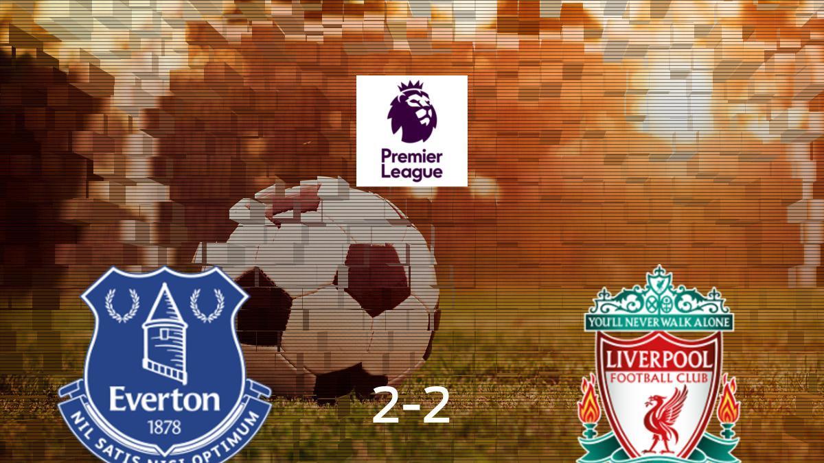 Everton Liverpool: Resultado, resumen y goles en directo