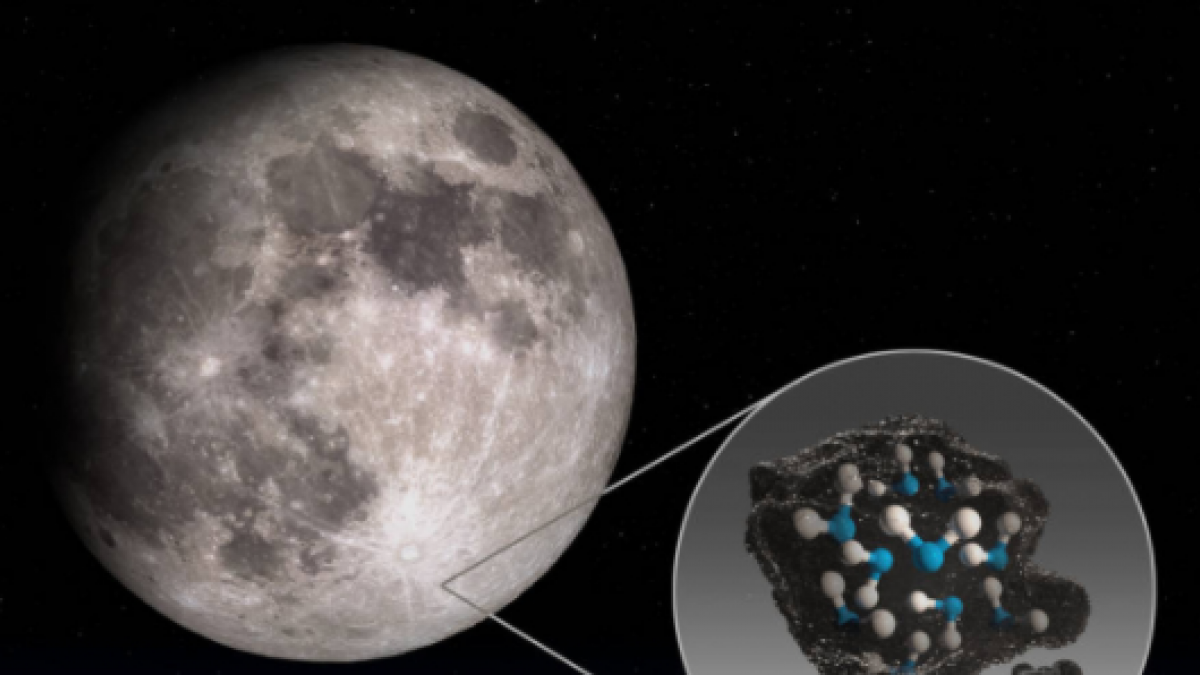 Congelada y en más cantidad de la esperada... estas son las claves del  descubrimiento de agua en la Luna
