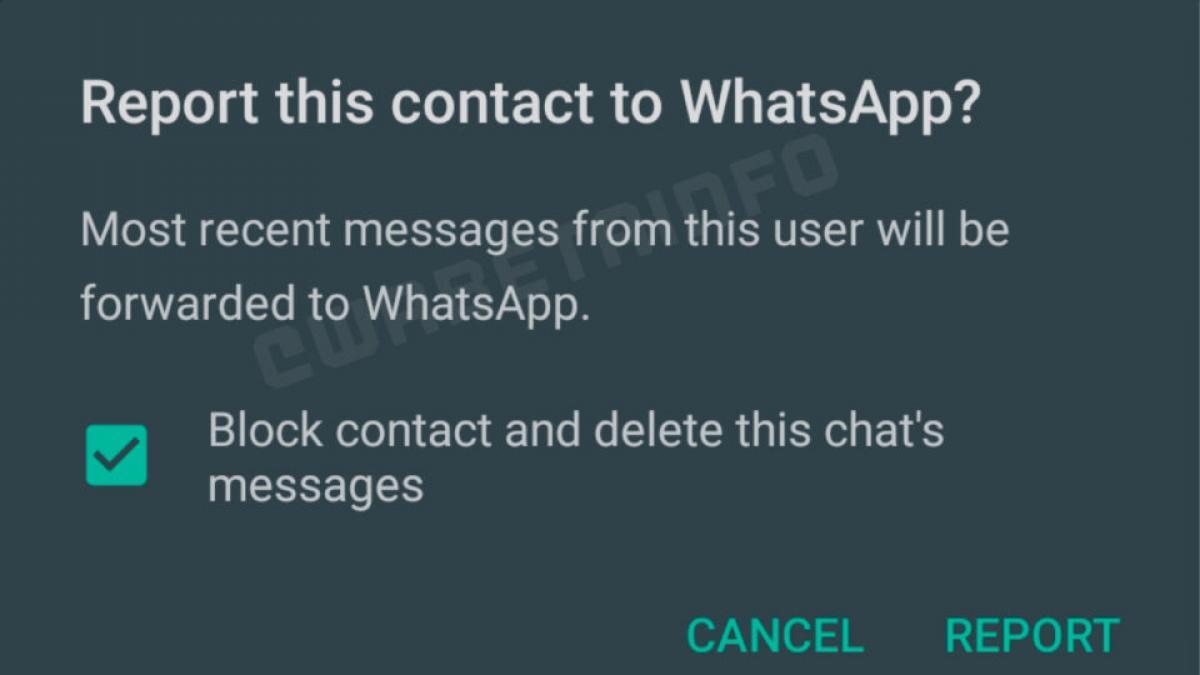 WhatsApp pide el consentimiento para que los mensajes más recientes le sean enviados.