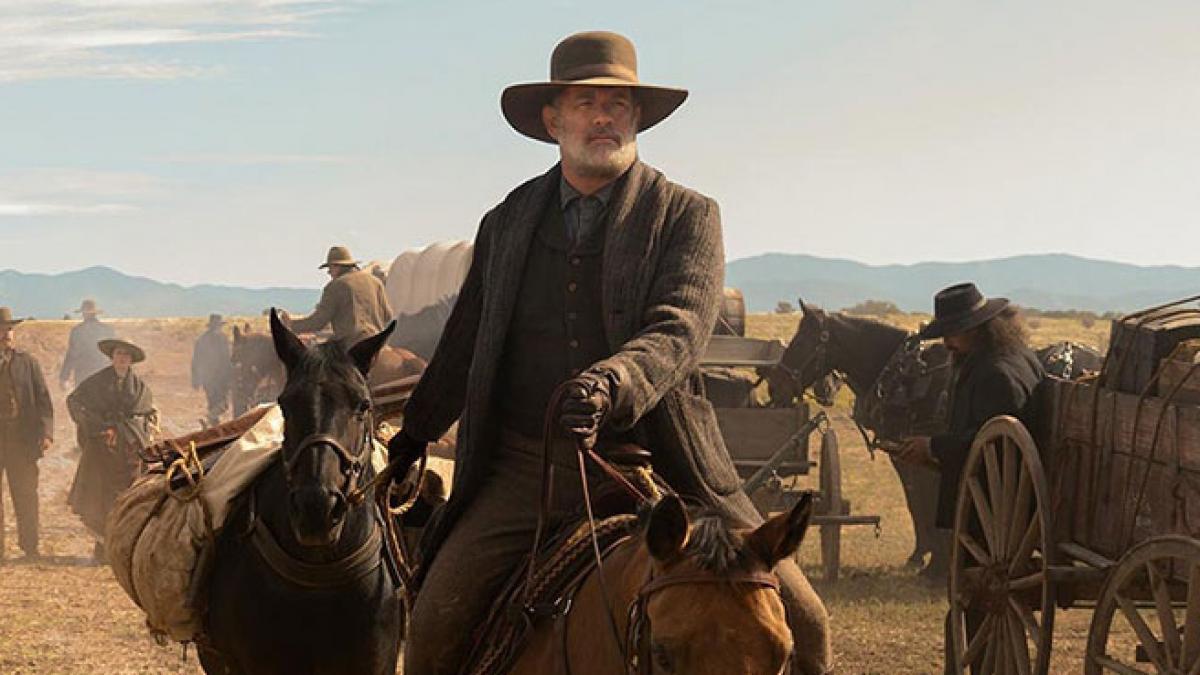 Nos llegará el estreno de 'Noticias del gran mundo' con Tom Hanks directo a  Netflix?