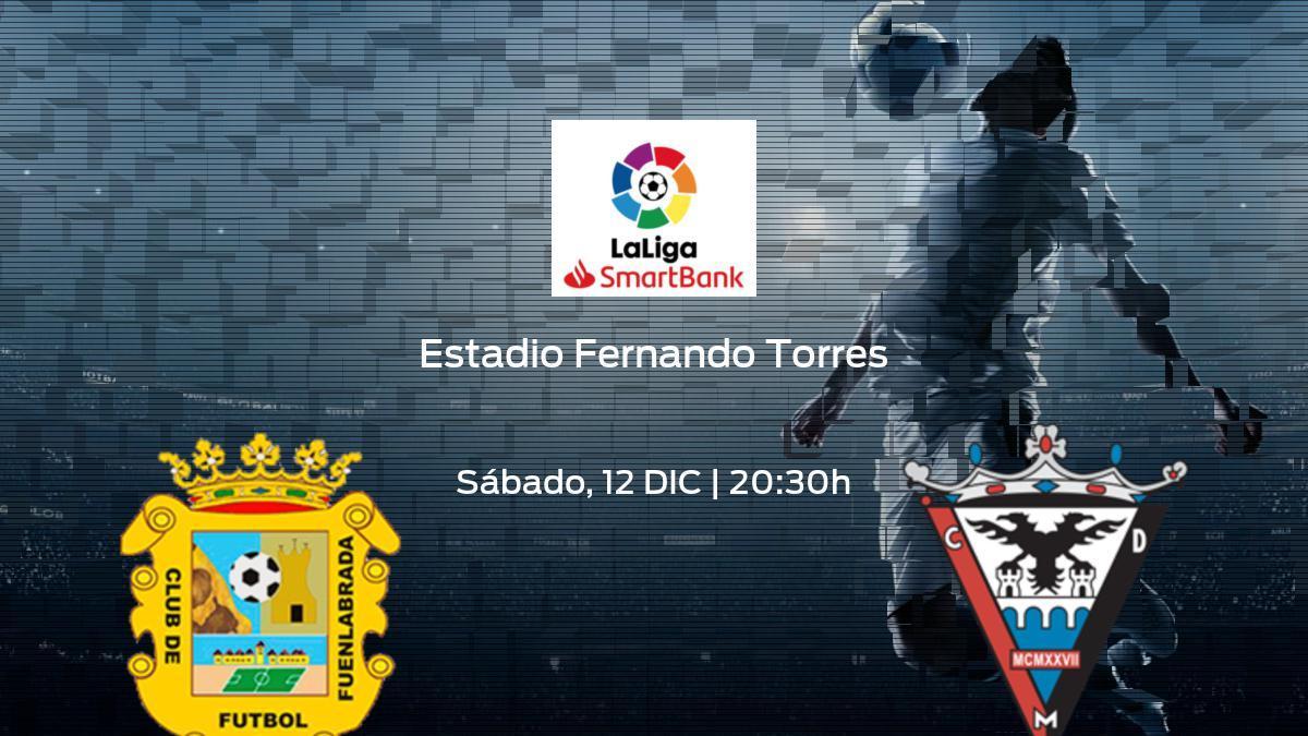 Horario y dónde ver el CF Fuenlabrada - CD Mirandés de la Segunda División