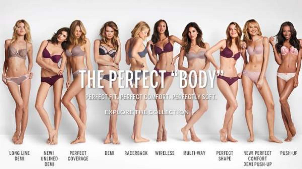 Polémica en Internet por una campaña sobre el 'cuerpo perfecto' de Victoria's  Secret