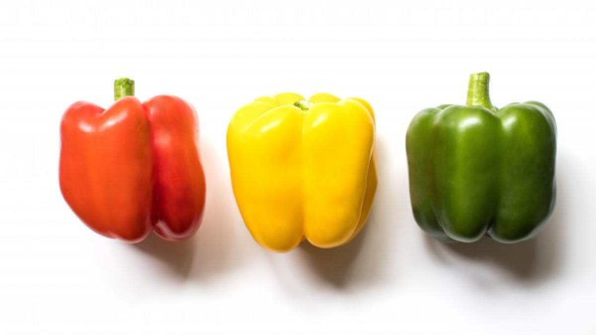Diferencias entre pimiento verde, amarillo y rojo, ¿es el mismo vegetal?