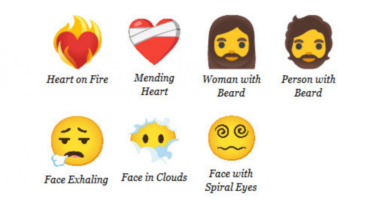 Más De 200 Emojis Nuevos Whatsapp Tendrá Corazones En Llamas Caras De Confusión Y Mujeres Con Barba En 2021