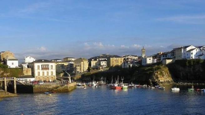 Panorámica general de la localidad asturiana de Tapia de Casariego.
