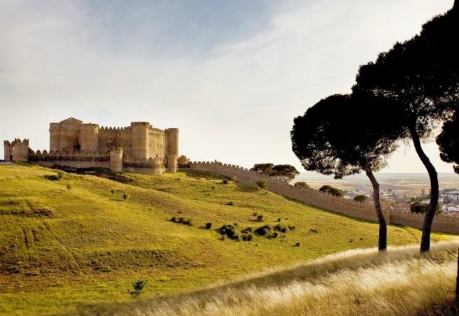 Castillo medieval de Belmonte, en Cuenca.