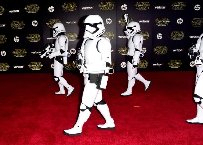 Galería: premiere de 'Star Wars: El despertar de la Fuerza'