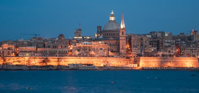 La Valeta (Malta).