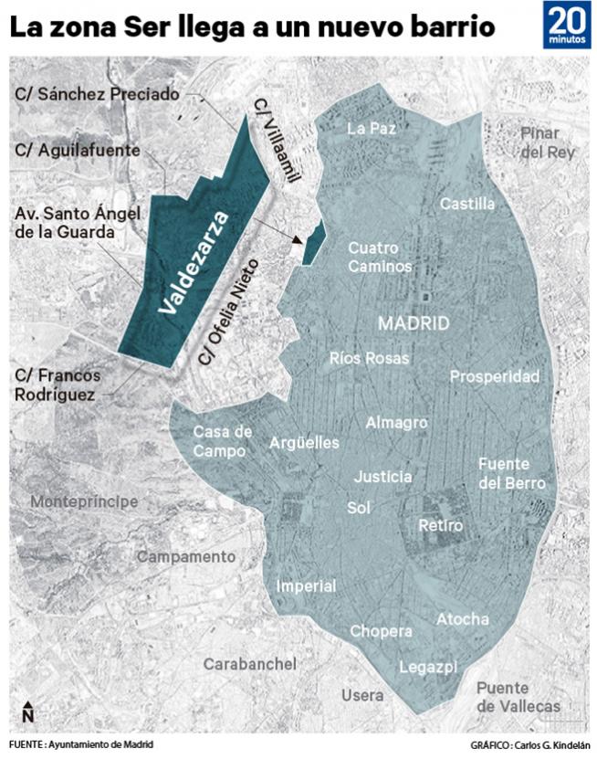Mapa De La Zona Ser De Madrid Horarios Precios Y Zonas