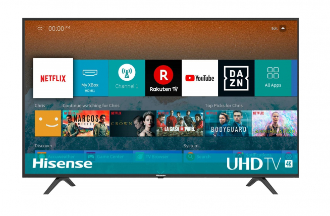 Hisense H43BE7000 - Smart TV.
