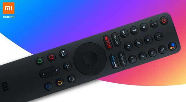El mando de las televisiones de Xiaomi