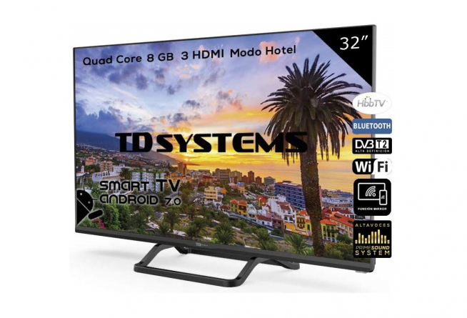 TD Systems K32DLX9HS Smart TV 32'.