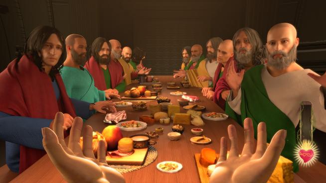 En Steam también aparece una imagen del videojuego junto a los apóstoles
