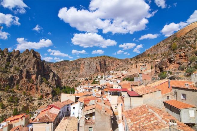 Vista panorámica de Ayna (Albacete).
