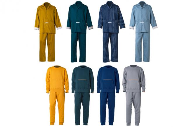 Estos son los diferentes modelos de 'e-skin Sleep & Lounge collection'.