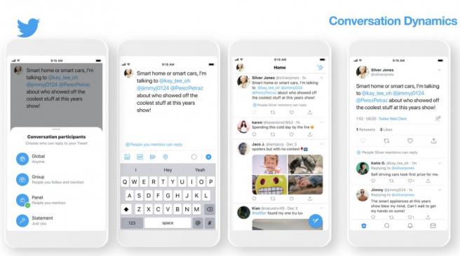 Twitter se plantea limitar quién puede contestar a tus tuits