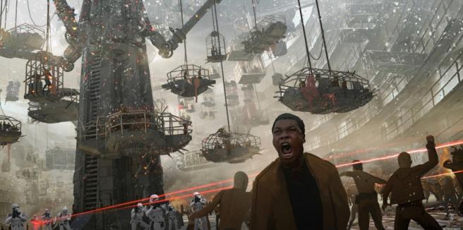 'Star Wars': Según Colin Trevorrow, este 'concept art' de cómo podía haber sido el Episodio IX es totalmente real