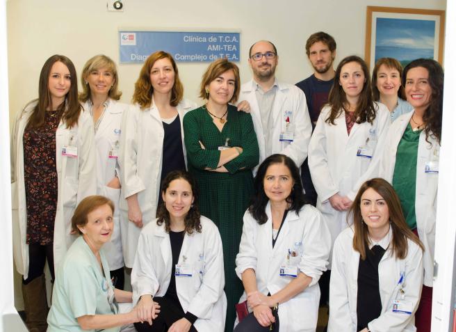 Integrantes del programa para la Atención Médica Integral de los pacientes con Trastorno del Espectro Autista (AMI-TEA) del Hospital Gregorio Marañón.