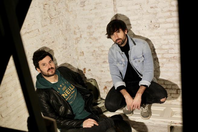 Willy Bárcenas y David Otero, que acaban de sacar 'Una foto en blanco y negro'.