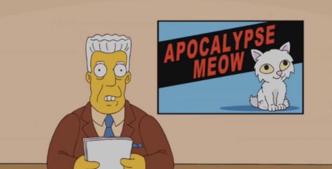 Imagen real del capítulo de 'Los Simpson' de 1993.