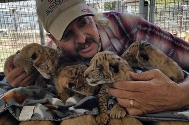 Asesinatos, poligamia y condones electorales: 'Tiger King' en 8 excentricidades