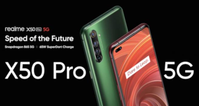 El Realme X50 Pro 5G llega a mitad de mayo
