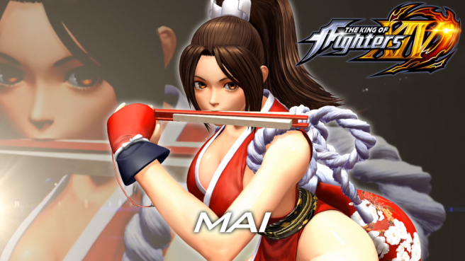 Mai Shiranuien 'King of Fighters XIV'.