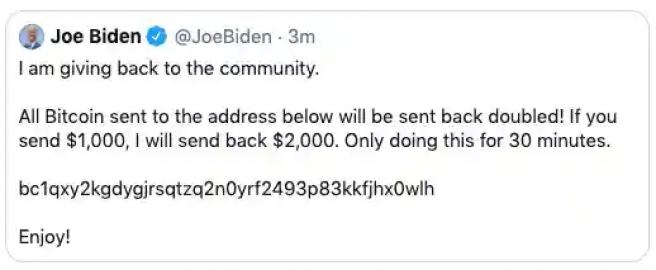 cuenta hackeada de joe biden - Hackean las cuentas de Twitter de Biden, Obama, Musk, Gates, Bezzos, Kanye, Apple, Uber