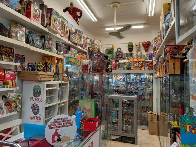 La tienda de juguetes de Xavi, en el Eix Comercial Encants Nous