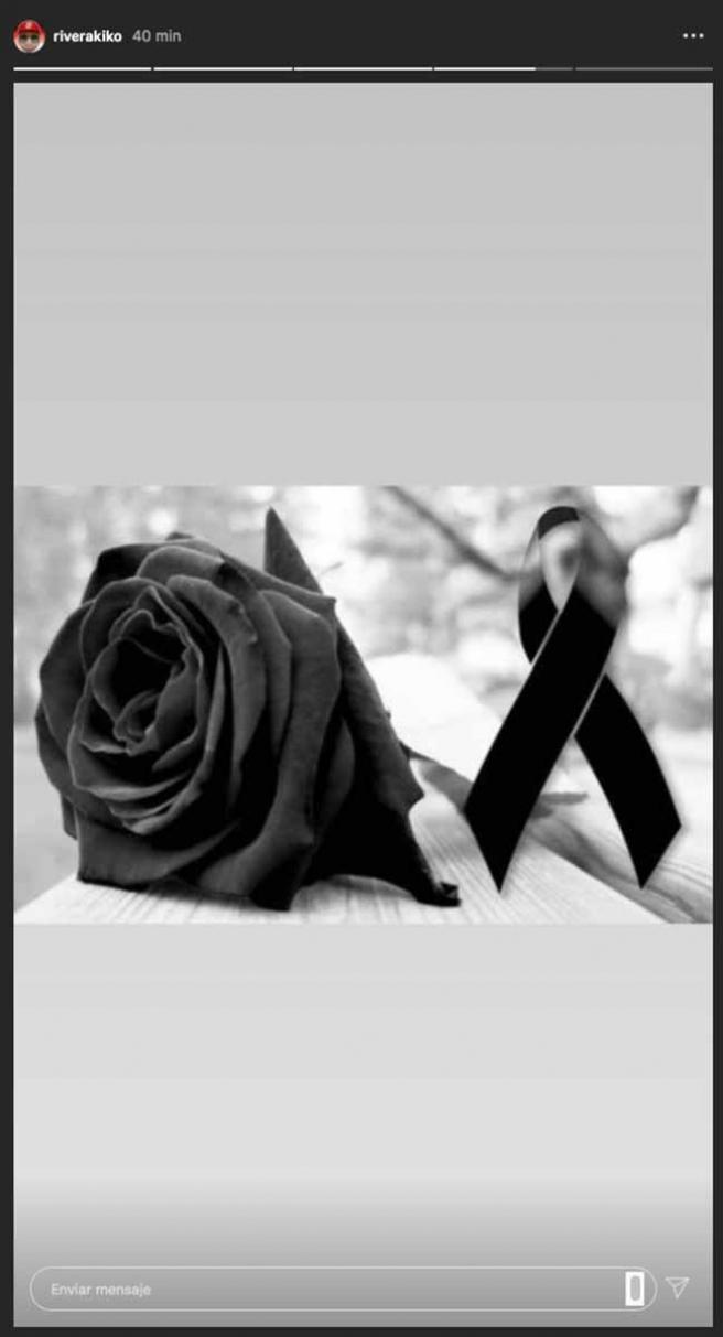 Instagram de Kiko Rivera tras conocerse la muerte de su suegro.