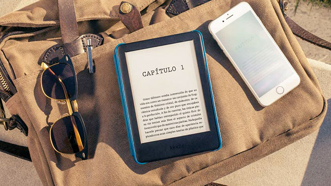 Amazon's plain Kindle now comes with an integrated front light.