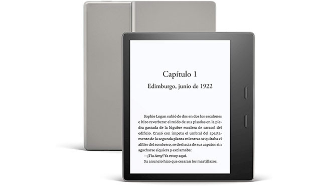 Kindle Oasis, one of the best electronic books currently on the market.