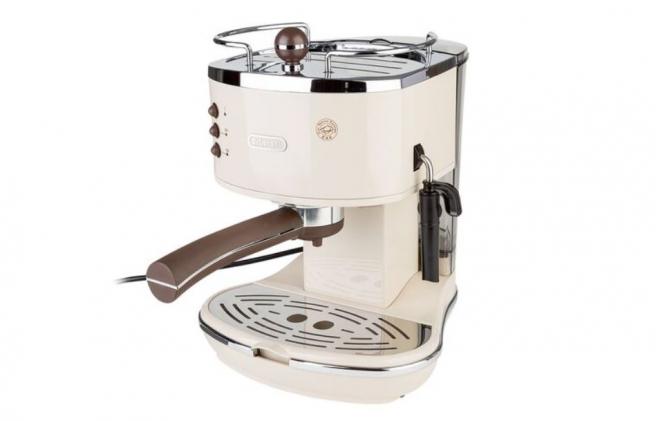 Cafetera DeLonghi Icona Vintage 1100 W, a la venta en Lidl.