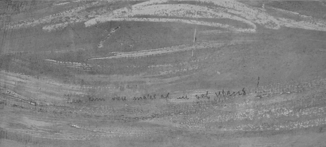 Inscripción en 'El Grito' de Munch.
