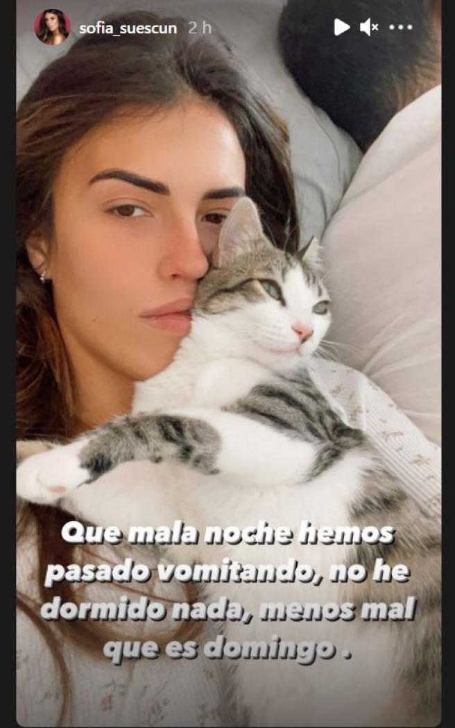 Storie de Sofía Suescun.