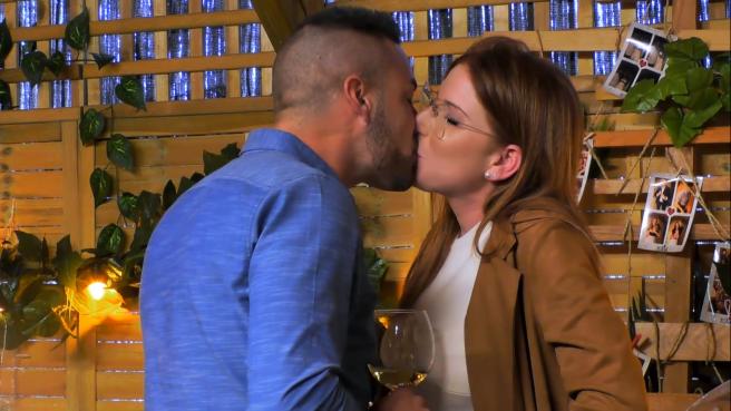 Ismael y María, en 'First dates'.
