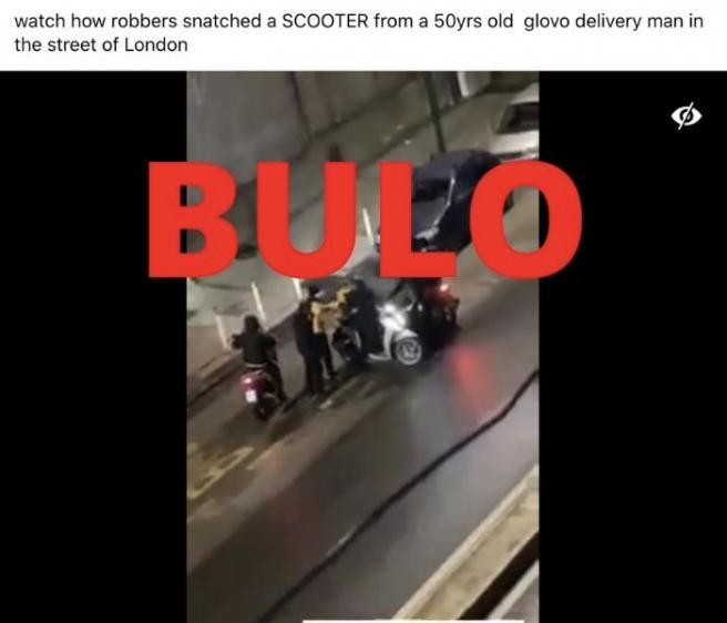 Bulos de los inmigrantes ilegales roban en Canarias las motos a los repartidores de comida a domicilio