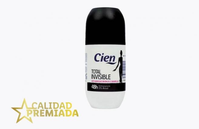 Desodorante Total Invisible de Cien, a la venta en Lidl.