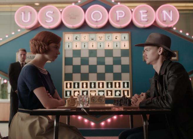 Anya Taylor-Joy en 'Gambito de dama' (2020)